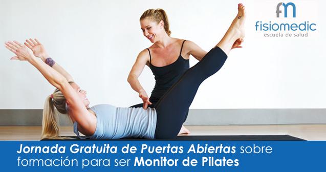 Jornada de puertas abiertas para ser monitor de Pilates