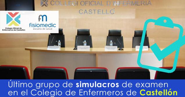 último grupo de Castellón de simulacros de Examen de la OPE