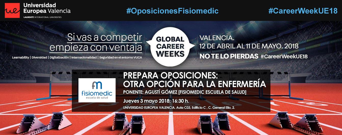 Fisiomedic impartirá una ponencia sobre oposiciones de Enfermería
