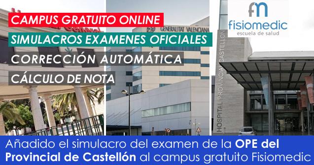 Simulacros gratis Oposiciones Enfermería