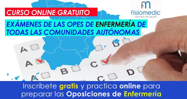 Curso Online de Oposiciones de Enfermería