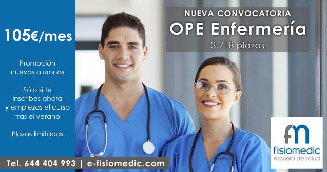Nueva OPE Enfermería