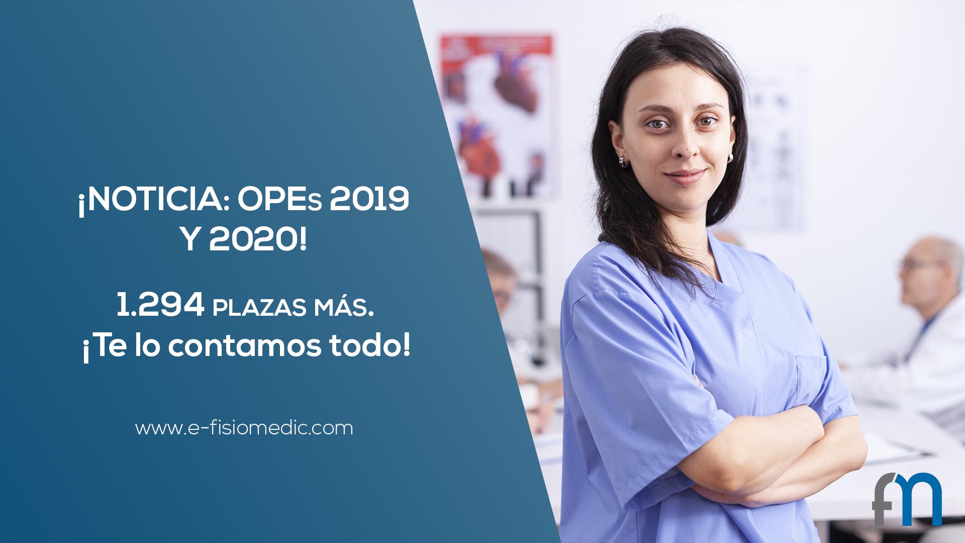 Noticia OPES 2019 y 2020